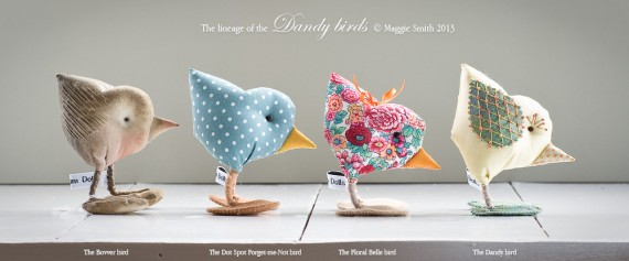 The lineage of Maggie Smith's Dandy bird