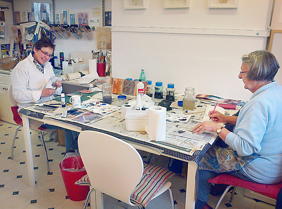 Mark Making Workshop, no.1. October 2014